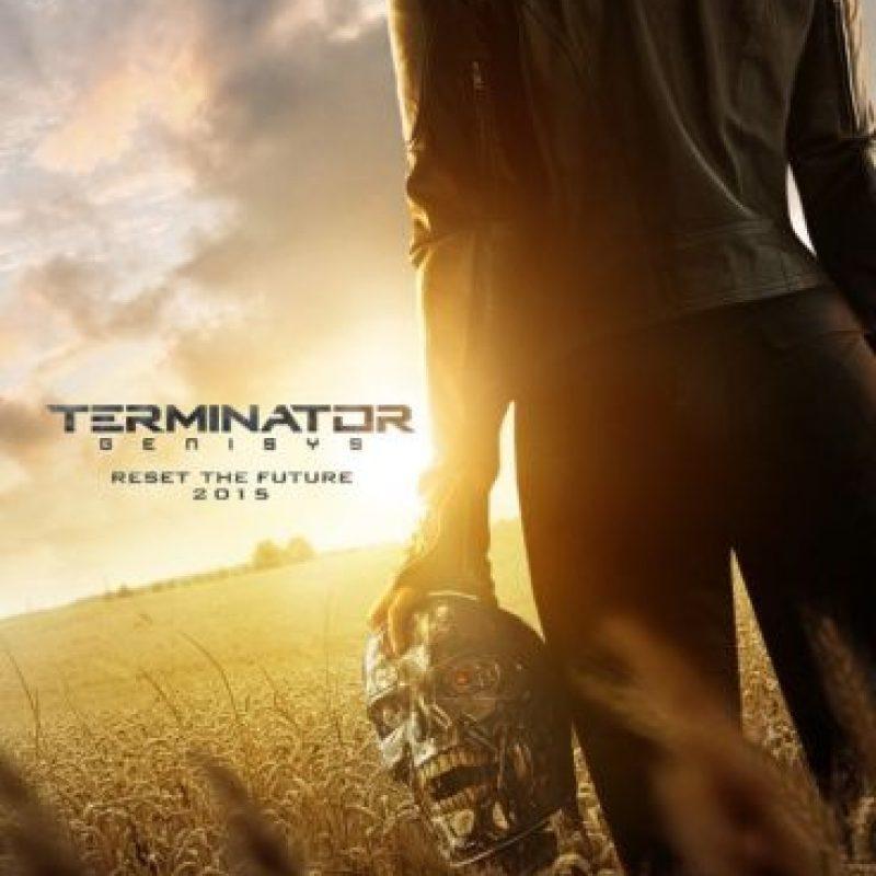 "Póster de ""Terminator: Genisys"" Foto:Paramount Pictures"