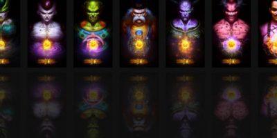"""Los villanos de """"Dragon Ball"""" en una versión más realista. Foto:Angus Yi"""