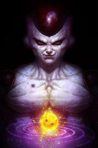Freezer era una ser que conquistaba planetas para luego venderlos. Uno de los mayores enemigos de Gokú y responsable de la masacre de la raza saiyajin. Foto:Angus Yi
