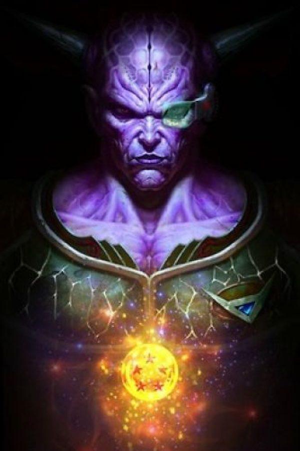 Capitán Ginyu estaba a las órdenes de Freezer y tenía la habilidad de poseer el cuerpo de otros seres. Foto:Angus Yi