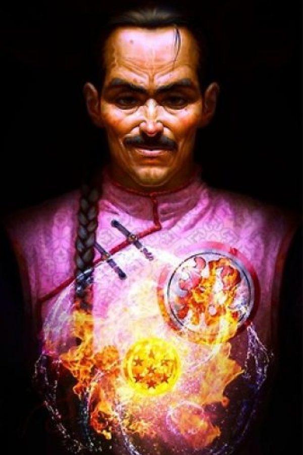 Tao Pai Pai fue uno de los primeros rivales de Gokú y conocido por ser el mejor asesino dle mundo. Foto:Angus Yi