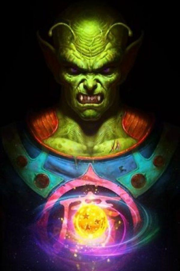 Piccolo Daimaō quería ser Dios de la Tierra pero se volvió uno de los aliados de Gokú cuando Kamisama separó de su espíritu la parte maligna. Foto:Angus Yi