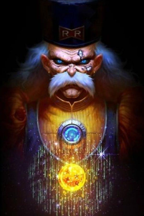 Doctor Gero fue el creador de los androides y el posterior aparecimiento de Cell. Foto:Angus Yi