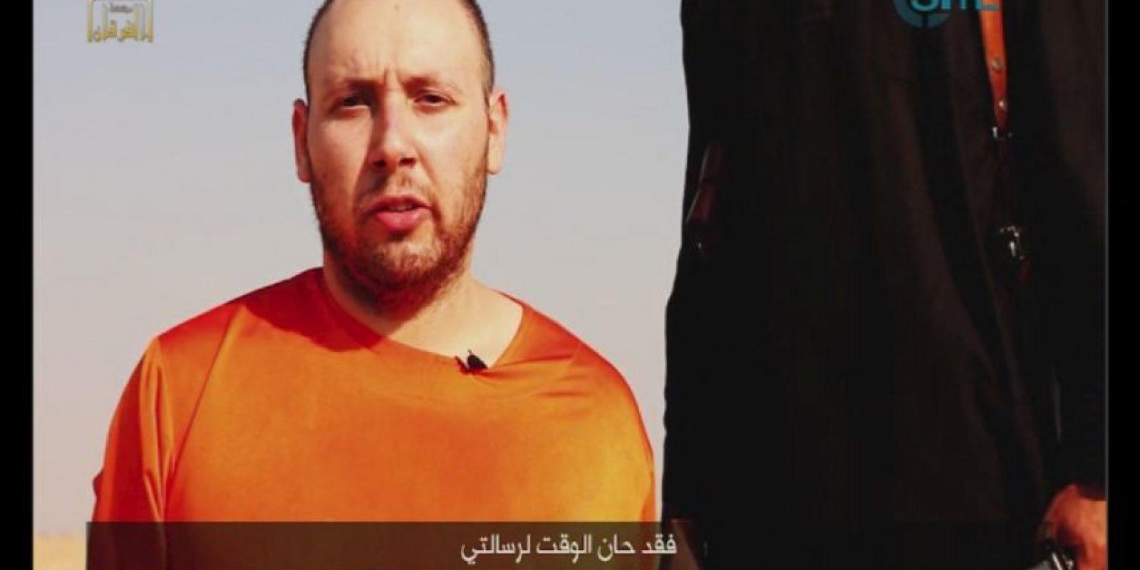 Steve Sotloff, periodista estadounidense asesinado por ISIS. Foto:AP