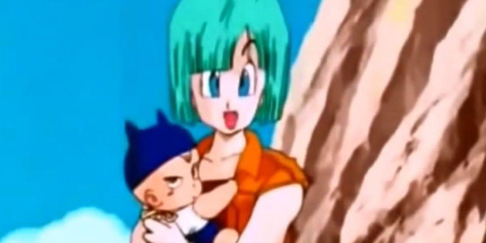 9. Se revela que el padre de Trunks es Vegeta Foto:Toei