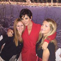 Kris Jenner con Alison Statter Foto:Instagram @krisjenner