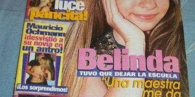 FOTOS: El antes y después de Belinda a través de sus portadas de revista