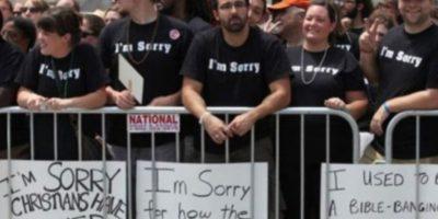 Estos cristianos se disculpan por su homosexualidad. Foto:Tumblr