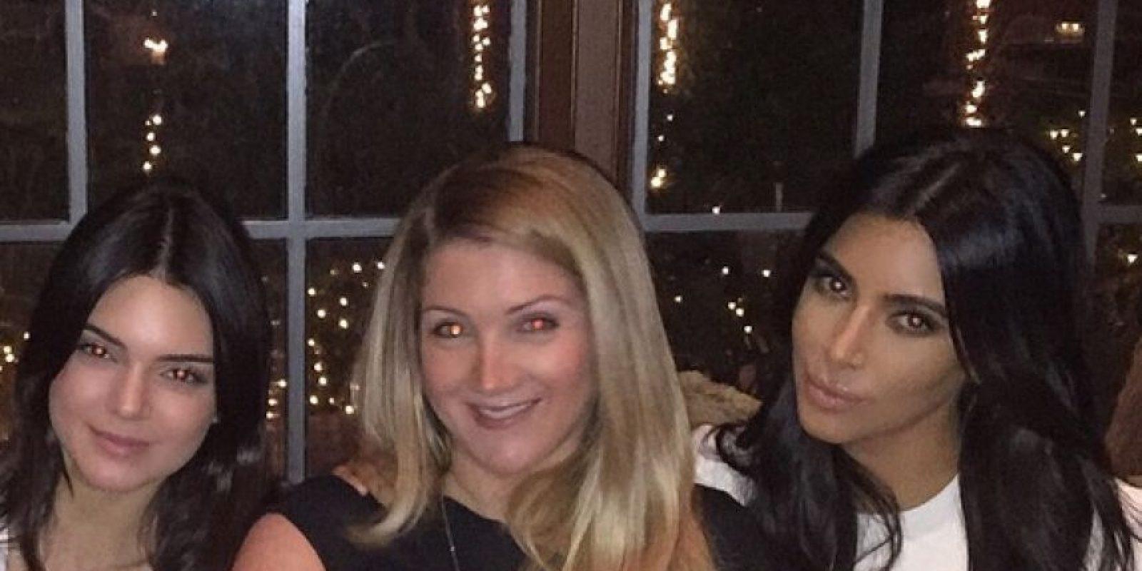 Kendall Jenner, Alison Statter y Kim Kardashian Foto:Instagram @kimkardashian