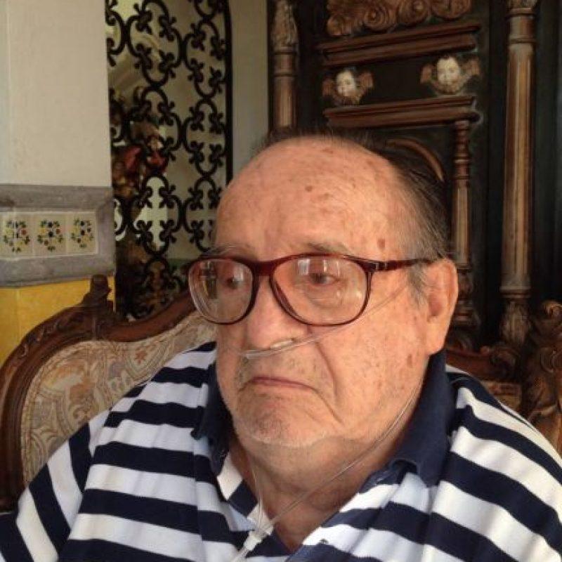 Su padre, pintor reconocido de la época, falleció cuando tenía seis años Foto:Twitter @ChespiritoRGB