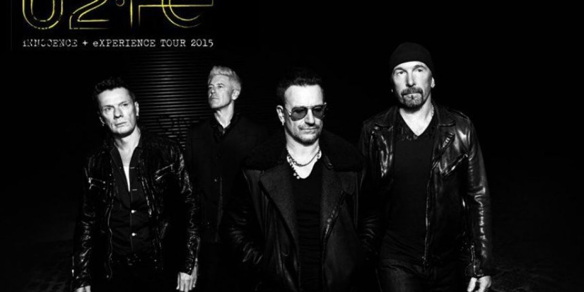 U2 anuncia su nueva gira por 19 ciudades para 2015