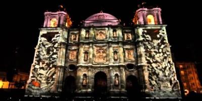 La catedral se pintará en 3D