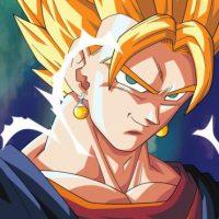 Vegetto: Es el resultado de la fusión entre Goku y Vegeta con los pendientes Pothara Foto:Wikipedia