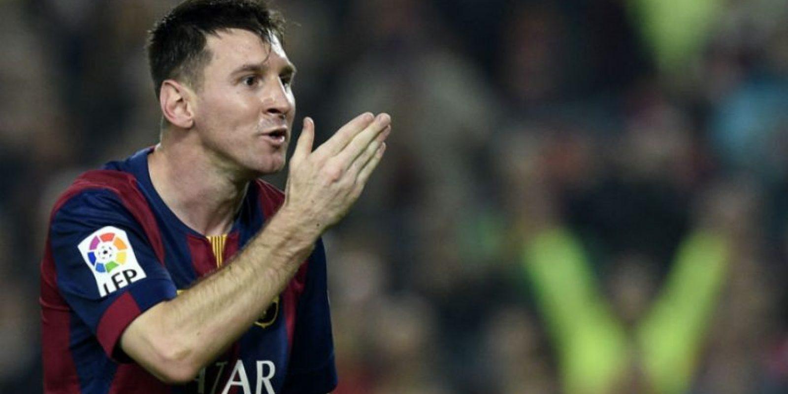 Lionel Messi superó la marca de Telmo Zarra el 22 de noviembre, ante el Sevilla. Foto:AFP