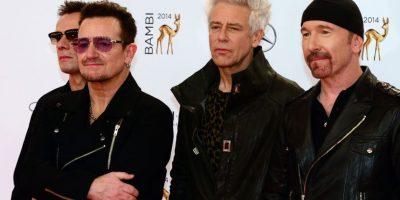 U2 compite en la categoría de rock Foto:AFP