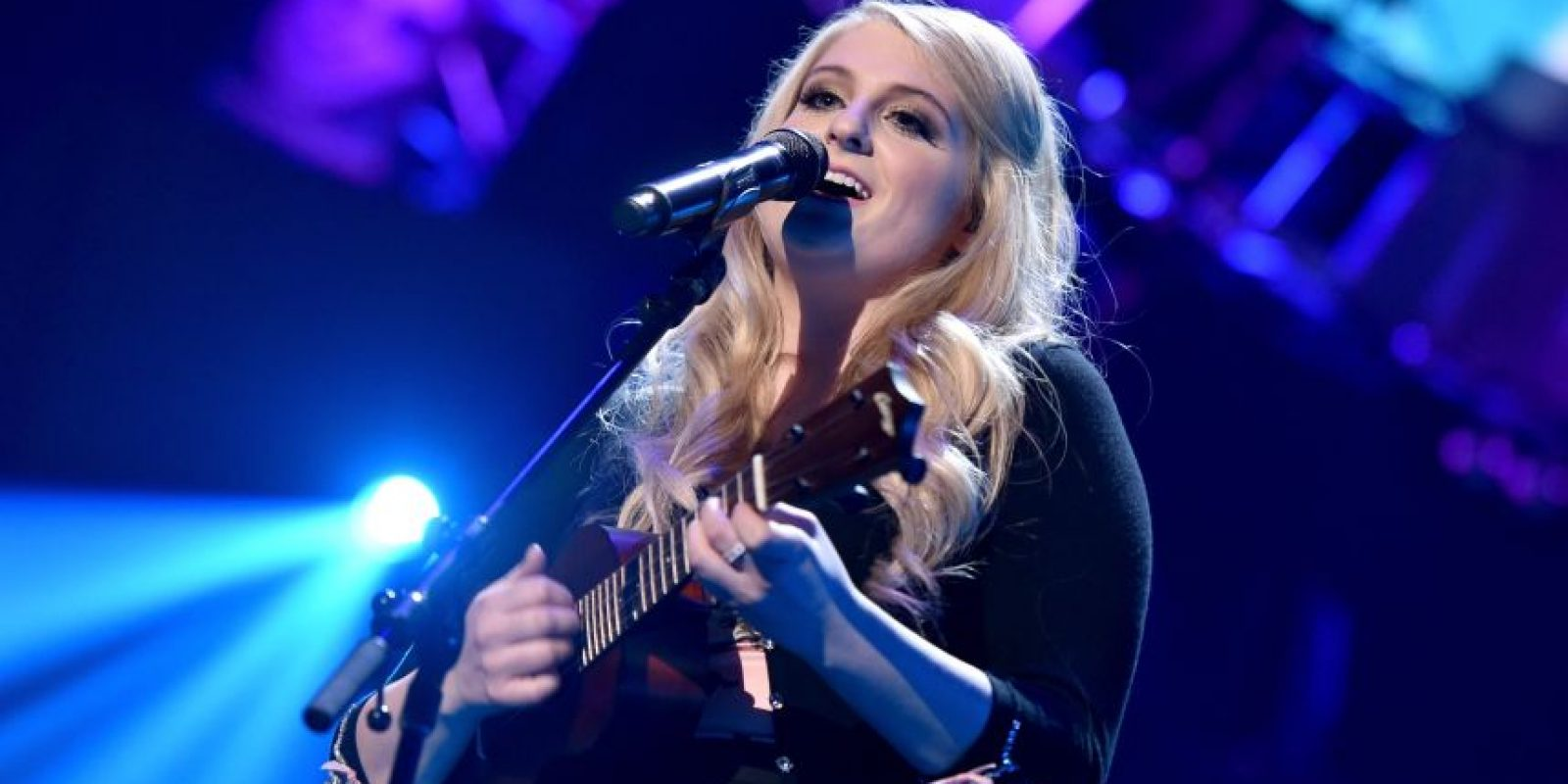 "Meghan Trainor está nominada con con ""All About That Bass"" Foto: AFP"