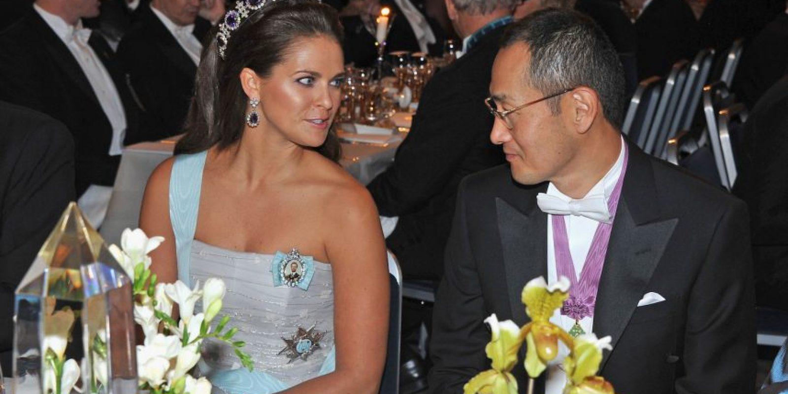 Princesa Madeleine junto al Profesor Shinya Yamanaka, Premio Nobel de la Paz. Foto:Getty Images