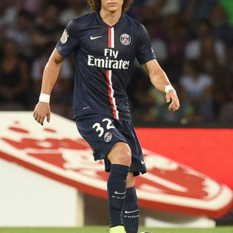 David Luiz mostró a su 11 ideal. Foto:Getty Images