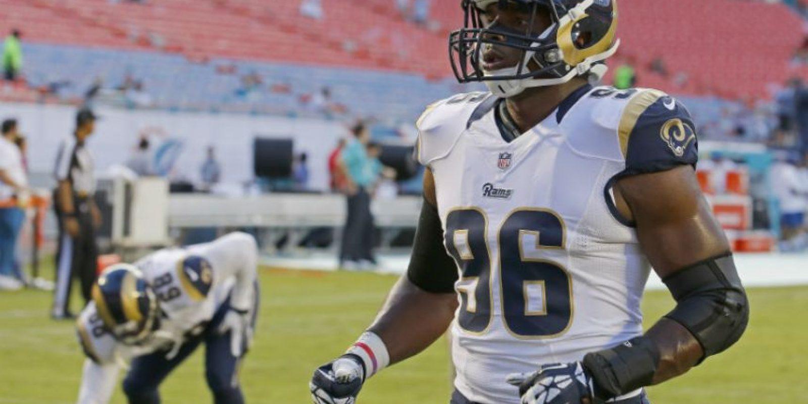 A inicios de temporada jugó con los Rams de San Luis Foto:Getty