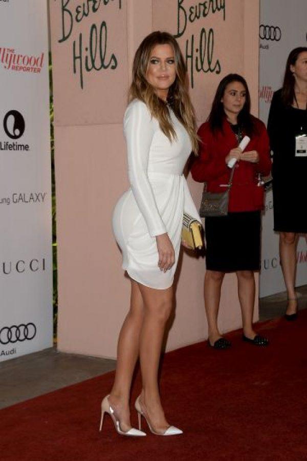 Tiene ascendencia armenia por parte de su padre, el abogado Robert Kardashian, y ascendencia escocesa y holandesa, por la de su madre, Kris Jenner Foto:Getty Images