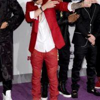 Bieber se convirtió en el primer cantante en tener siete sencillos de un álbum debut en la Billboard Hot 100 Foto:Getty Images