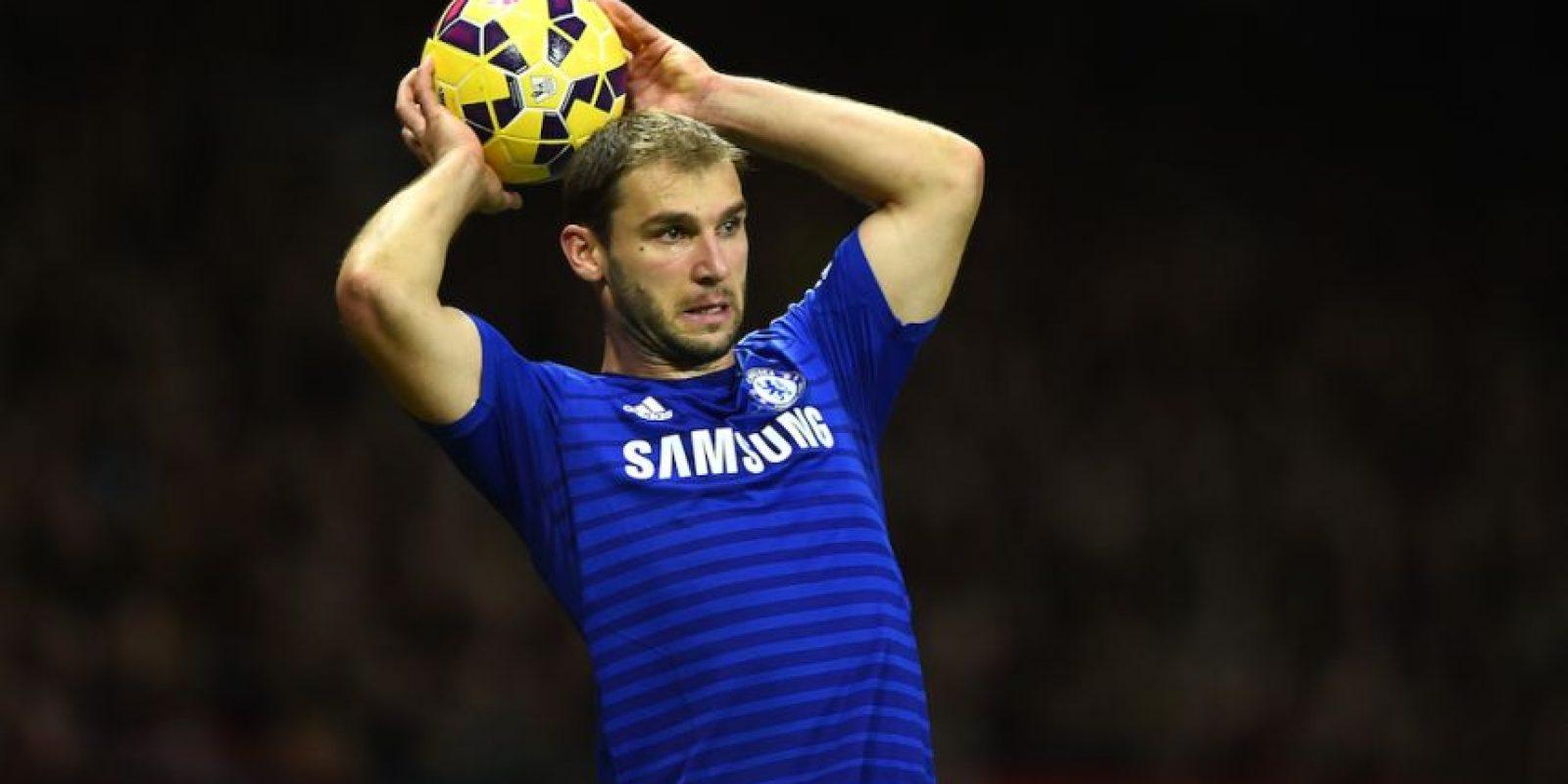 Ivanović tiene 30 años de edad y juega en el Chelsea de Inglaterra. Foto:Getty Images