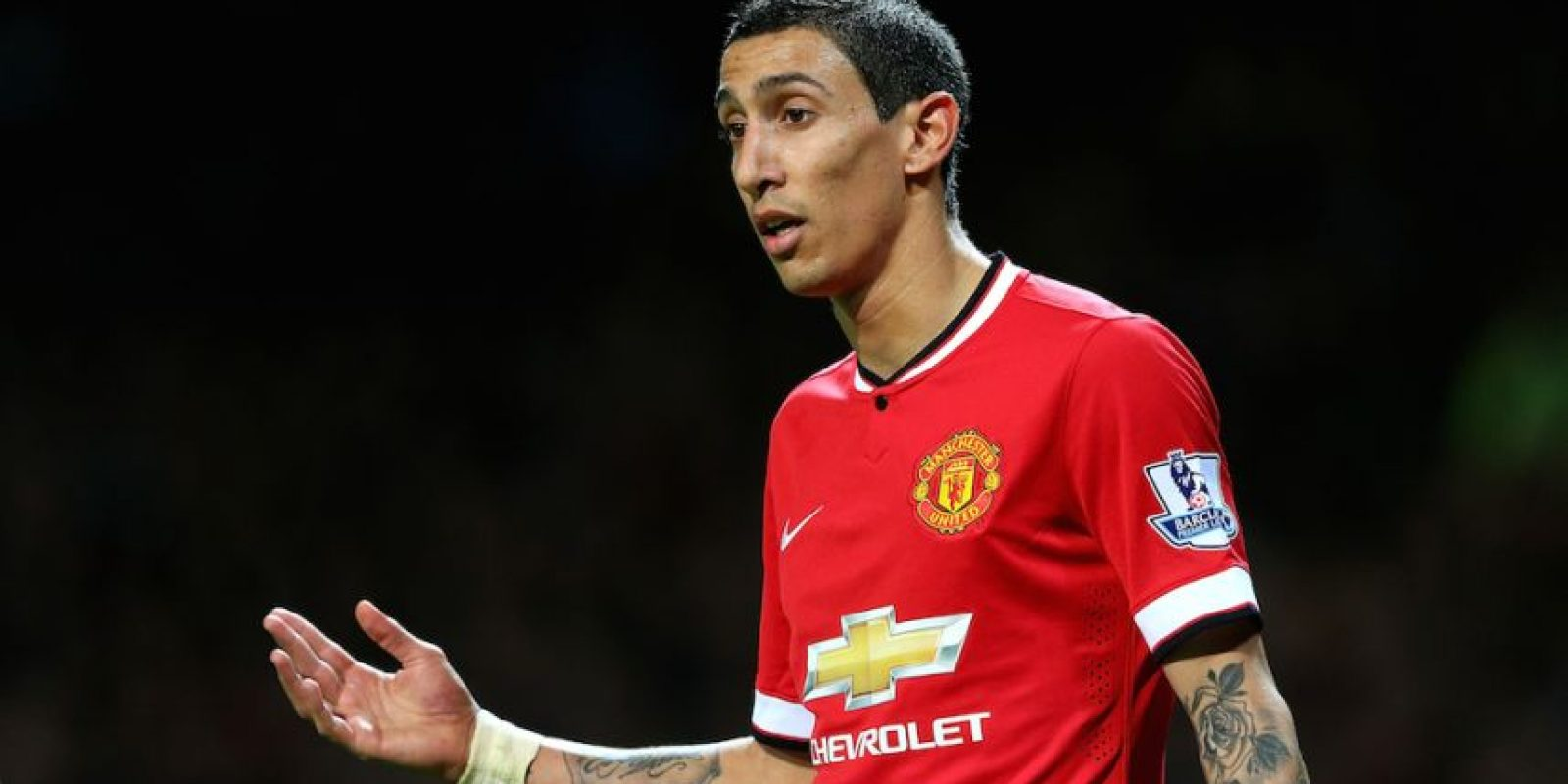 Di María tiene 26 años de edad y juega en el Machester United de Inglaterra. Foto:Getty Images