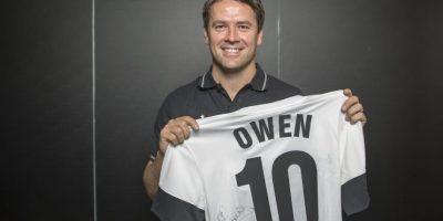 Owen jugó con el Real Madrid, Manchester United, entre otros. Foto:Getty Images