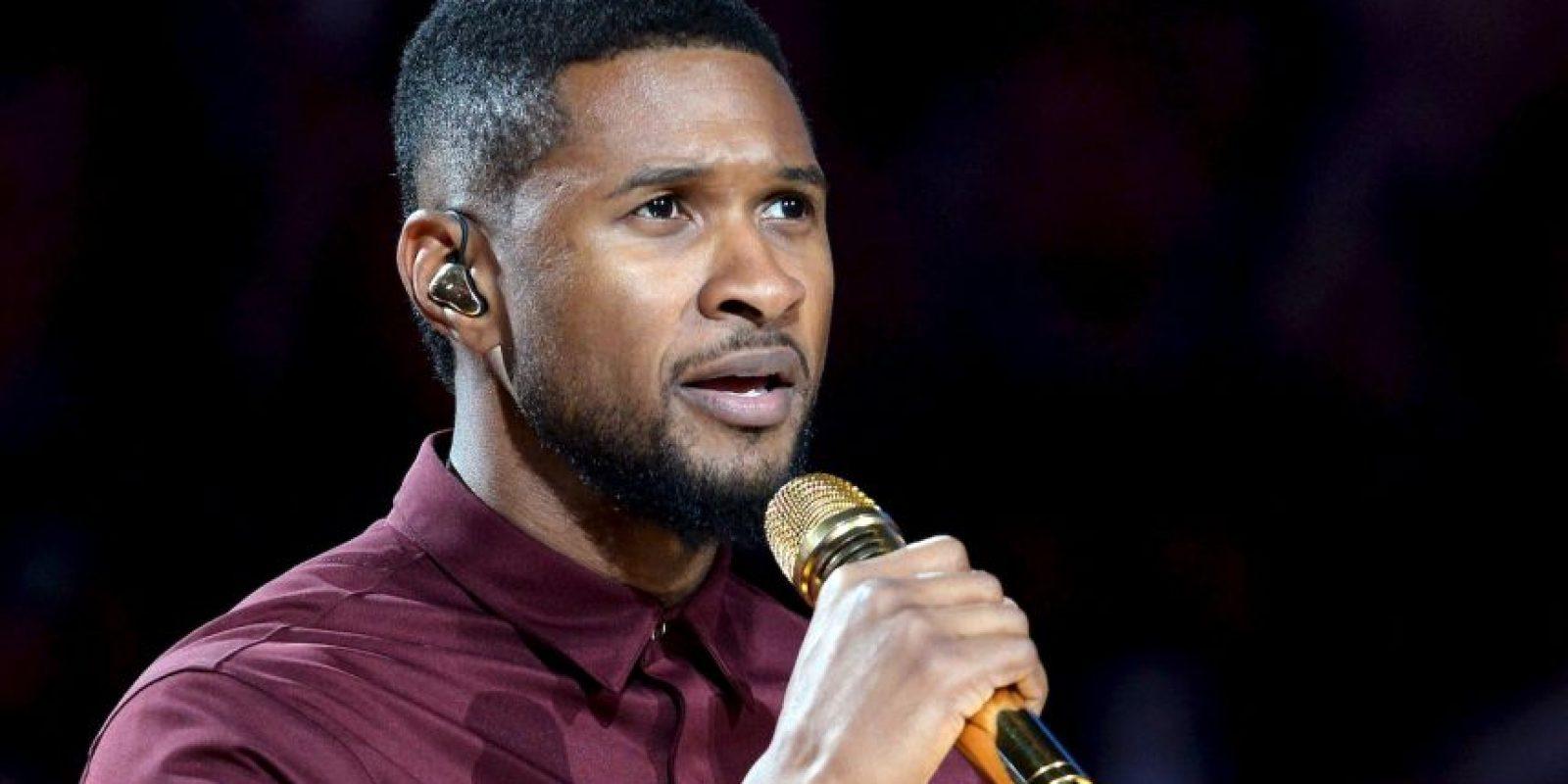"""En 1994 lanzó su primer álbum, titulado """"Usher"""" Foto:Getty Images"""