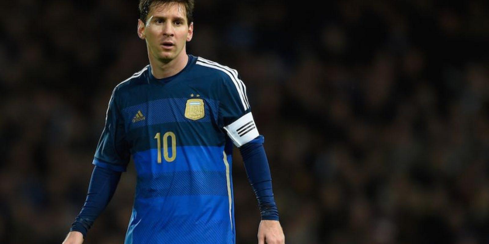 Messi tiene 27 años de edad. Foto:Getty Images