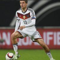 El delantero teutón ha mandado el balón a las redes en más ocasiones con el pie derecho Foto:Getty