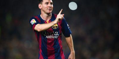Messi tiene 27 años y juega en el Barcelona de España. Foto:Getty Images