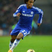 Willian tiene 26 años y juega en el Chelsea de Inglés. Foto:Getty Images