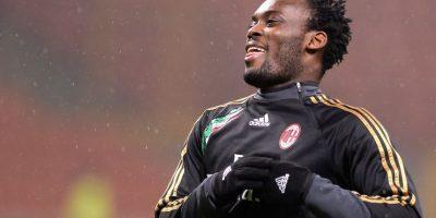Essien tiene 32 años y juega en el Milán de Italia. Foto:Getty Images