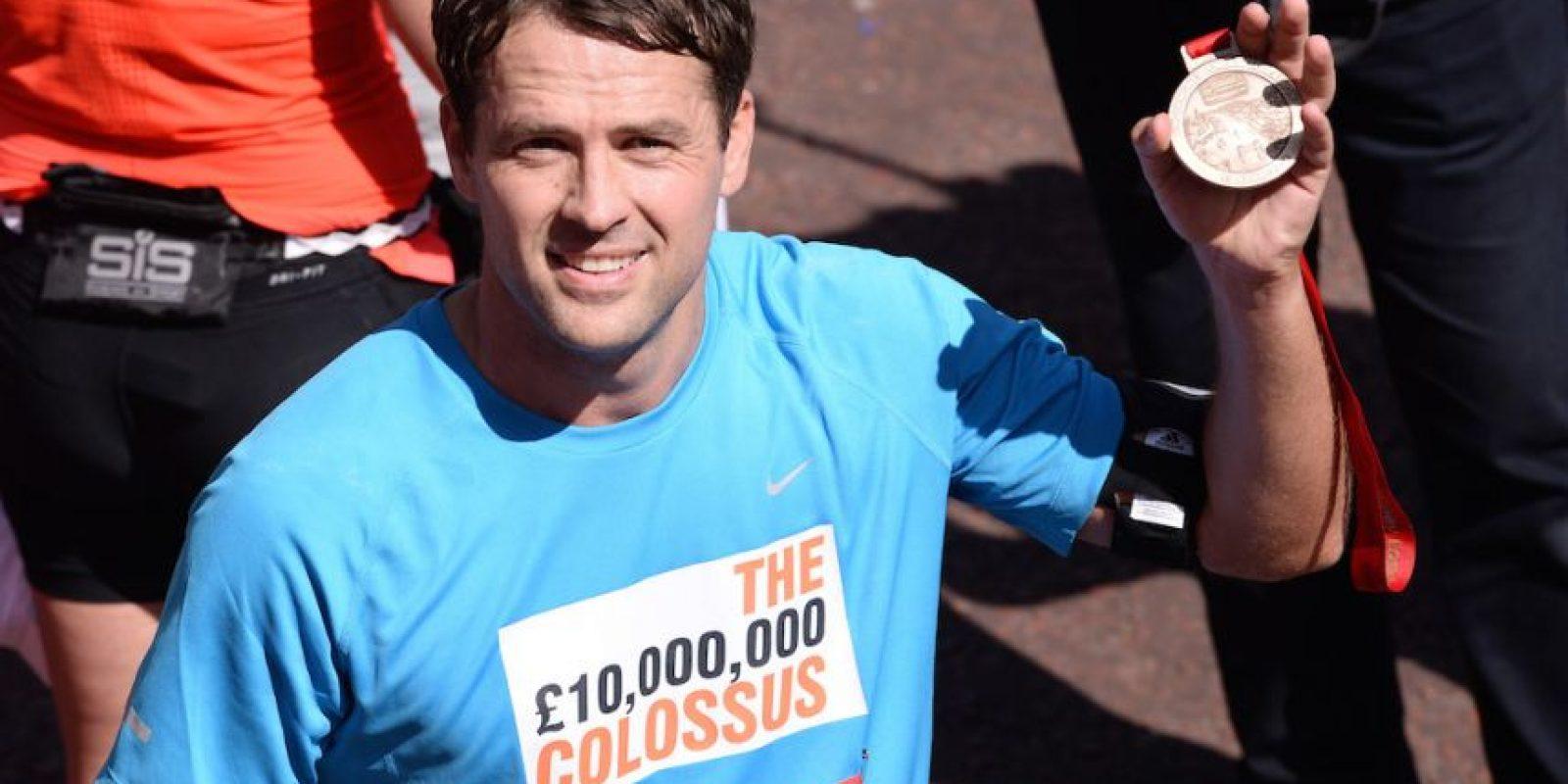 Michael Owen tiene 34 años de edad. Foto:Getty Images