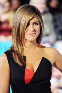 "Saltó a la fama gracias al personaje ""Rachel"" en la serie de los 90 ""Friends"". Foto:Getty Images"