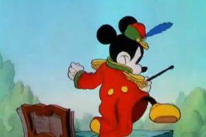 The Band Concert (1935) es el primer corto de Mickey Mouse a color Foto:YouTube/Edgelee84