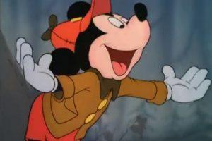 """""""The Pointer"""" es el primer corto donde Mickey luce ojos más humanos Foto:YouTube/Cartoon Channel"""