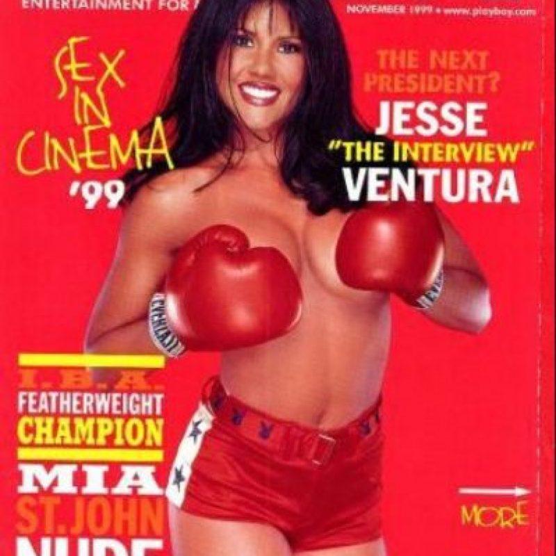 Mia St. John Foto:Playboy