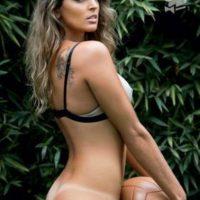 La voleibolista brasileña fue la portada de la edición de julio de 2012. Foto:Playboy