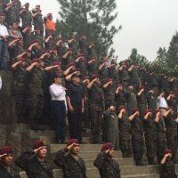 Hoy se cumplen 40 años de los kaibiles. Foto:Ejército
