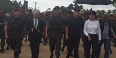 Presidente conmemora XL aniversario de los kaibiles