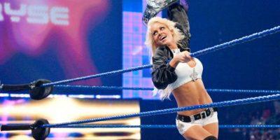 Se casó en febrero paso con Mike Mizanin, mejor conocido como The Miz Foto:WWE