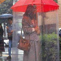 Esta sombrilla Foto:Oddee