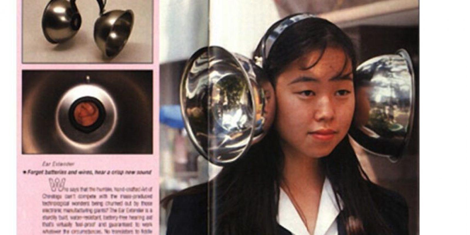 Este extensor auricular Foto:Oddee
