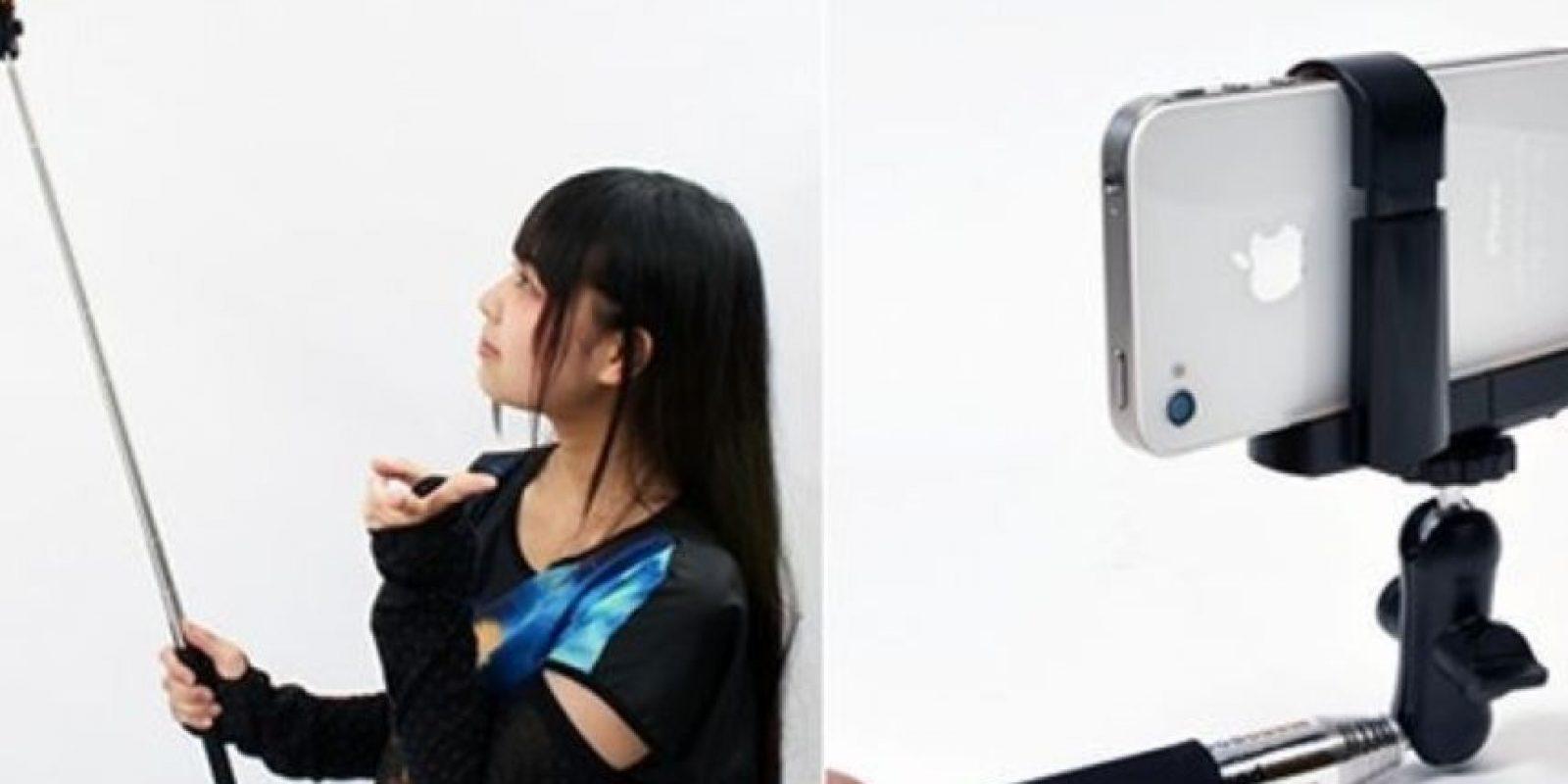 Este extensor para selfies. Foto:Twitter