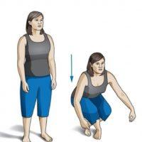 El ejercicio consiste en sentarse Foto:Discover.com