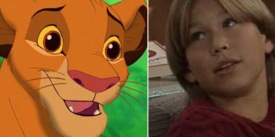 """11. El actor Jonathan Taylor Thomas en su infancia era igualito a Simba de """"El Rey León"""" Foto:Totally Looks Like"""