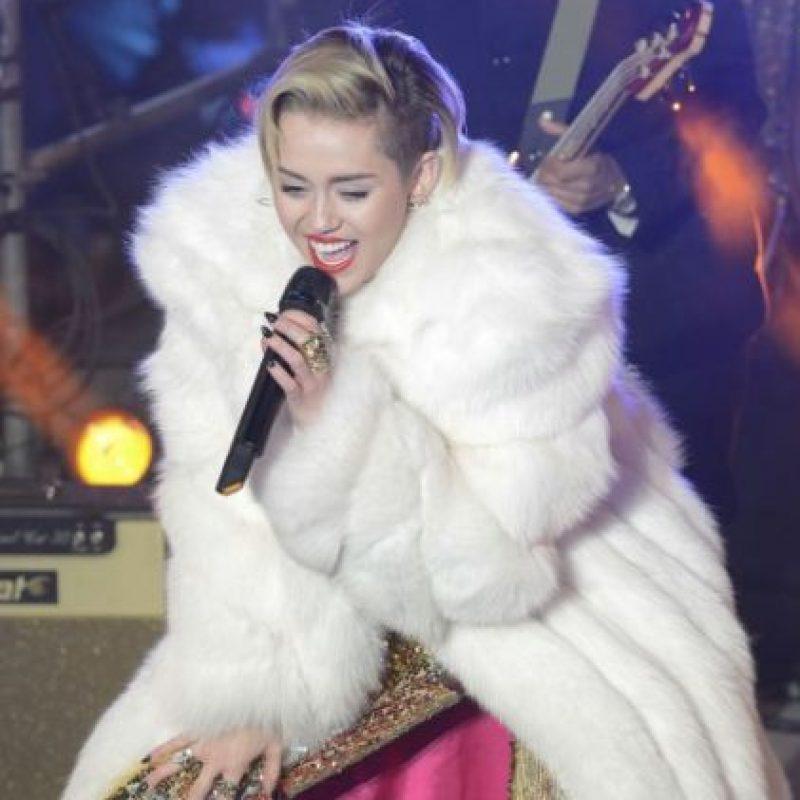 Miley Cyrus, 21 años Foto:Getty