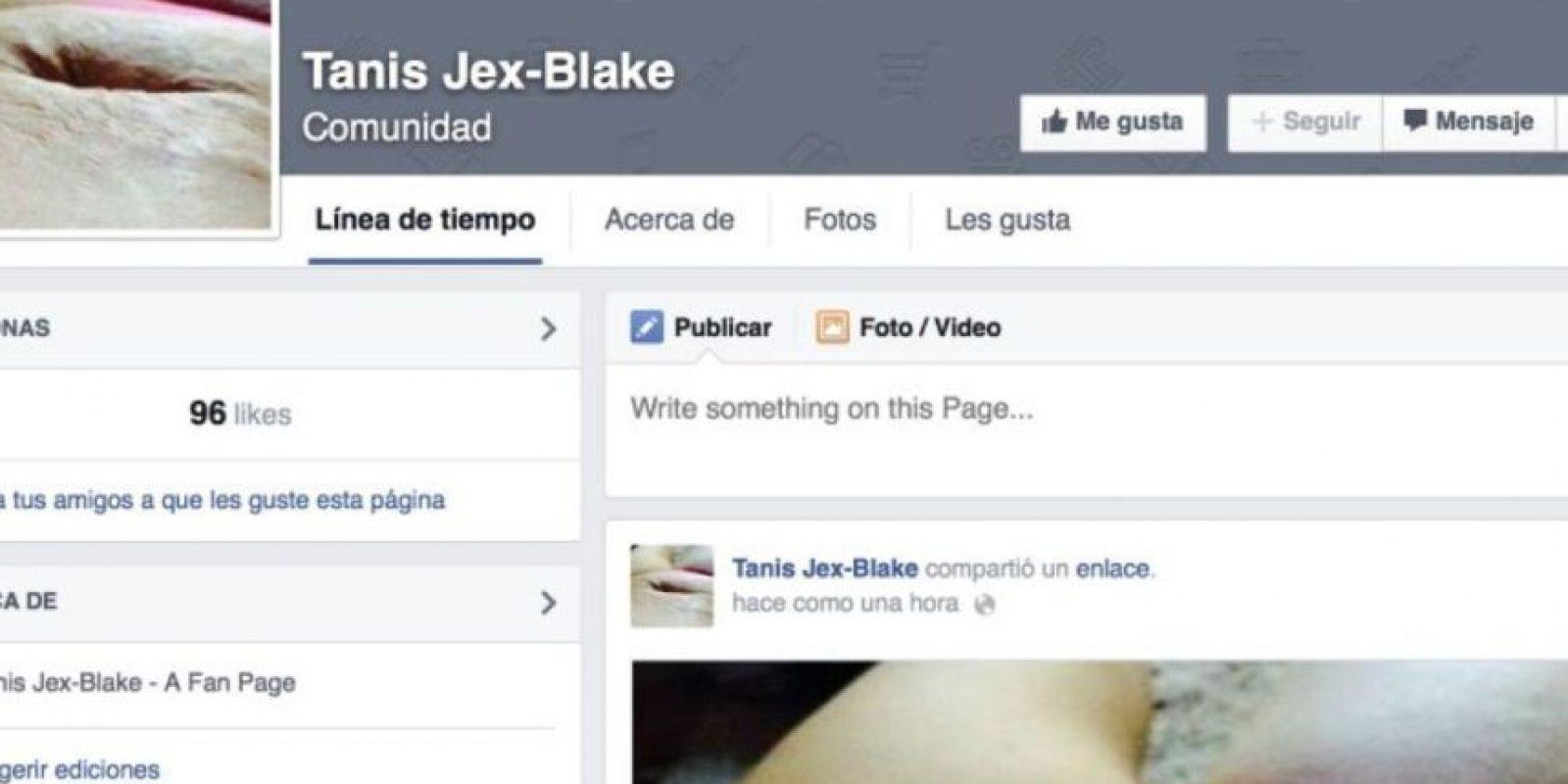 Jex decidió actuar. Foto:Jex-Blake/Facebook